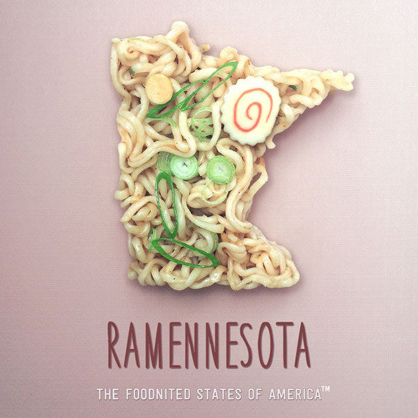 Ramennesota Foodnited States Poster