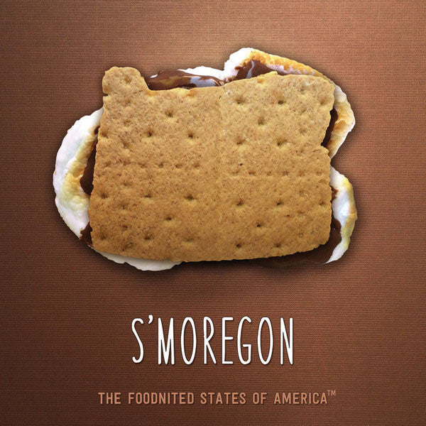 S'moregon Foodnited States Poster - The Foodnited States