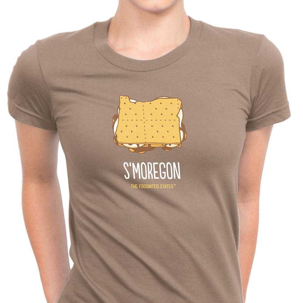 S'moregon T-shirt, Women's - The Foodnited States
