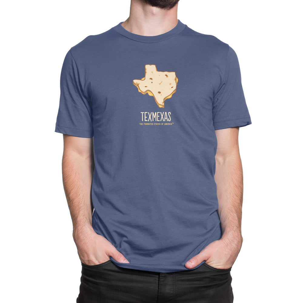 Texmexas T-shirt, Men's/Unisex - The Foodnited States