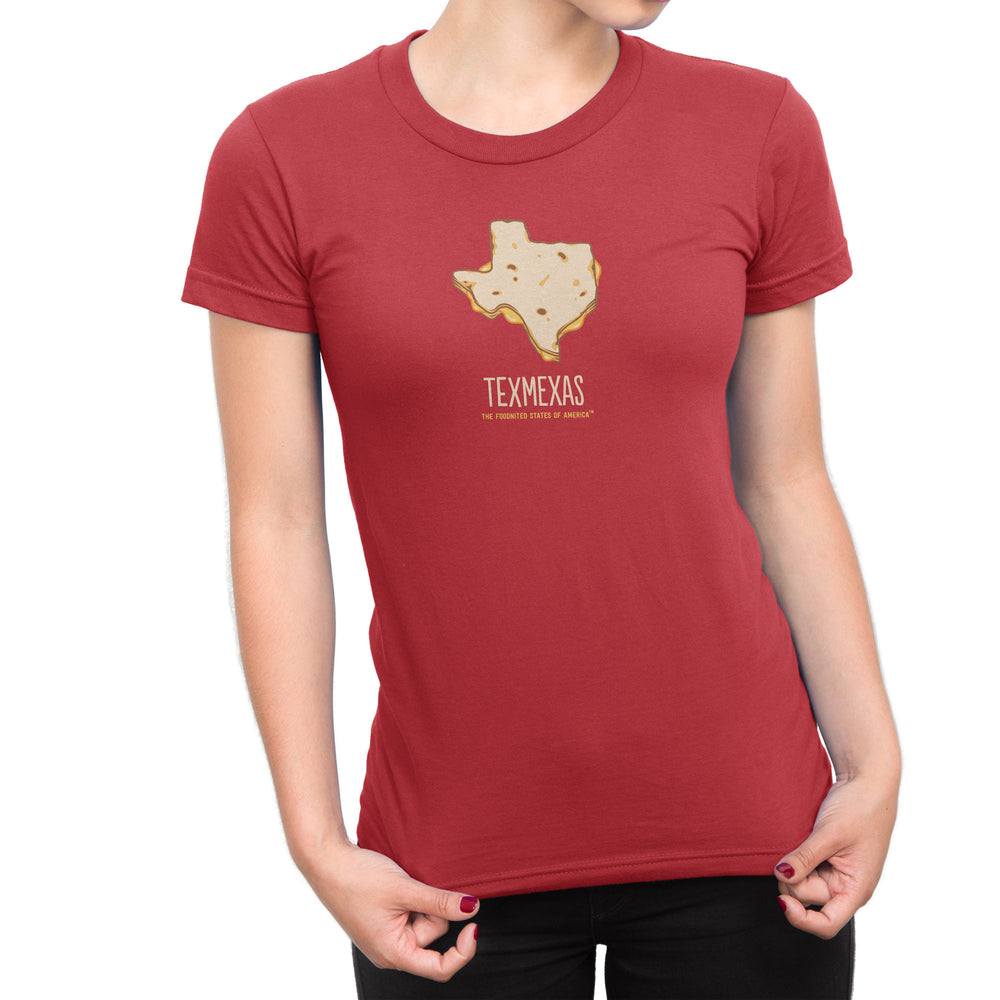 Texmexas T-shirt, Women's - The Foodnited States