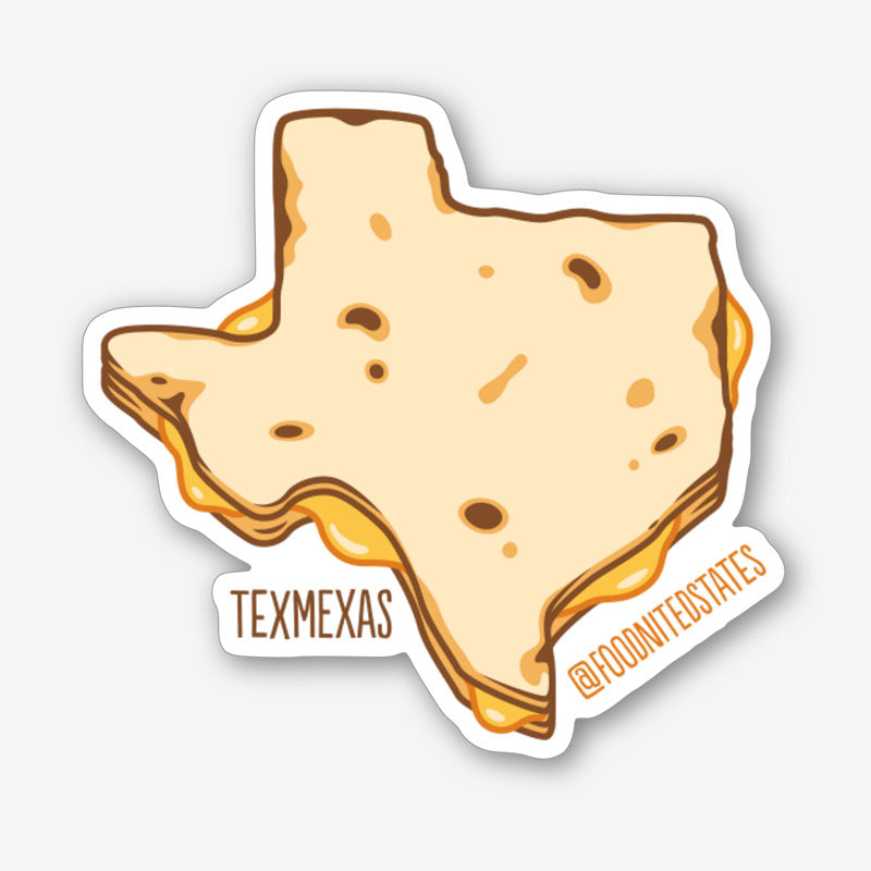 Texmexas Sticker - The Foodnited States