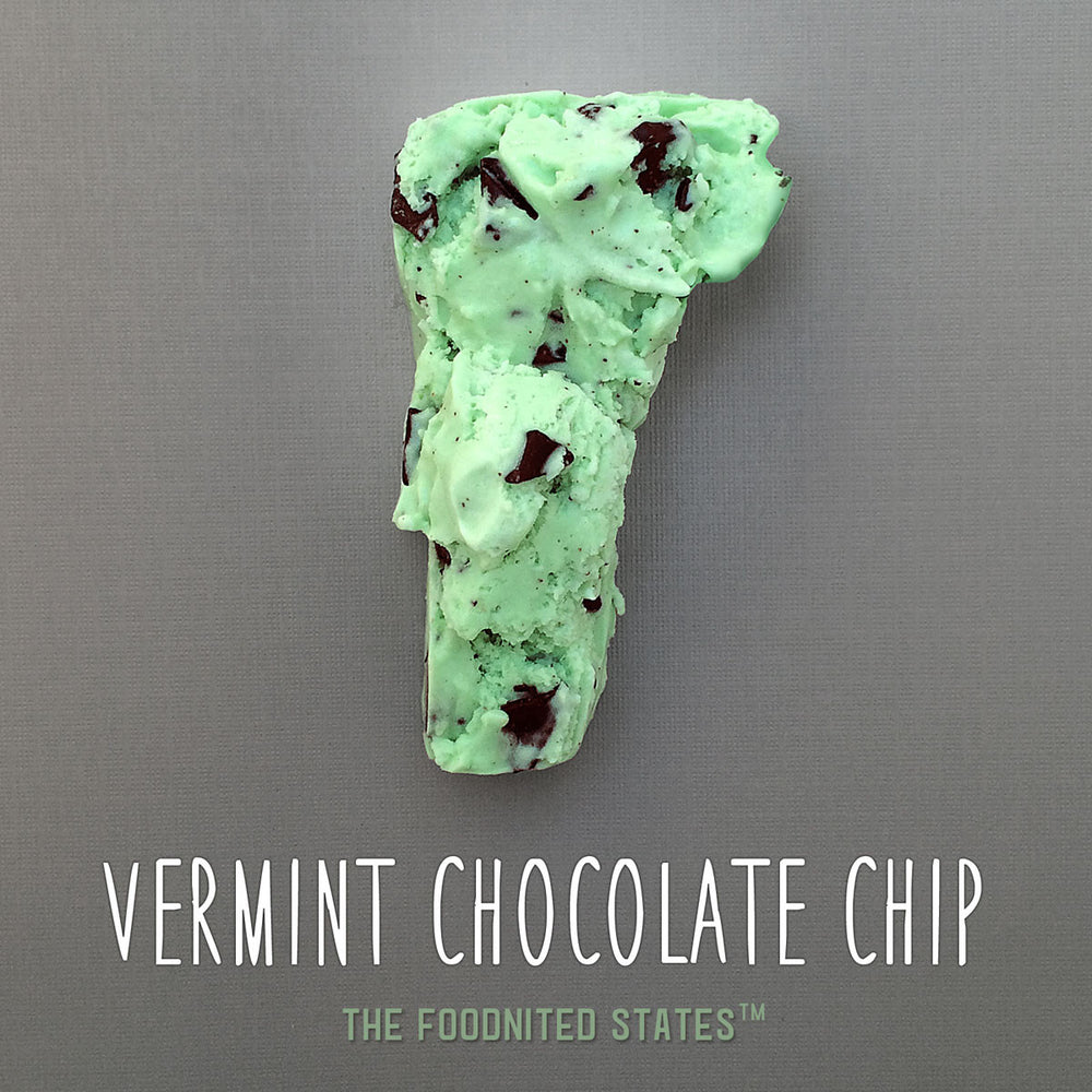 Vermint Chocolate Chip Foodnited States Poster - The Foodnited States