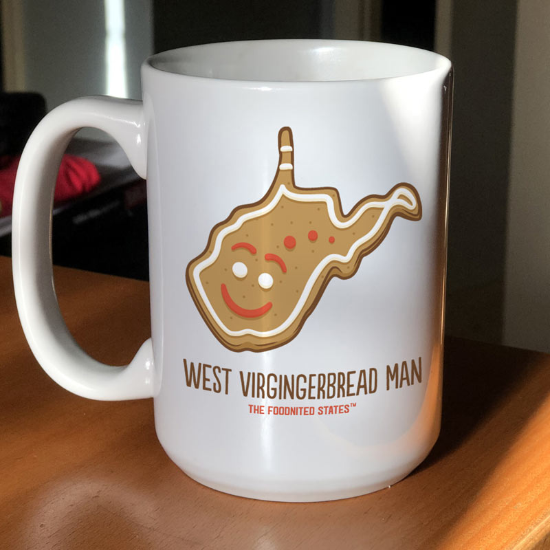 West Virgingerbread Man Coffee Mug
