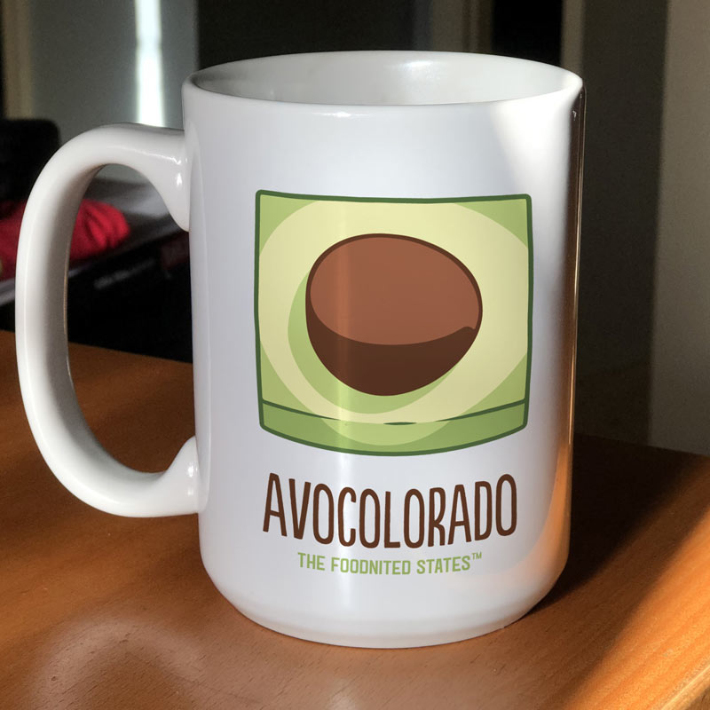 Avocolorado Coffee Mug