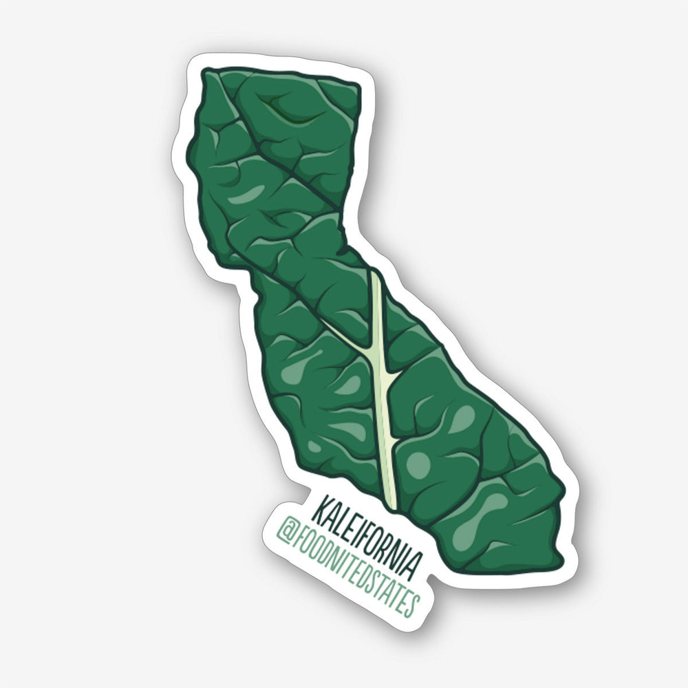 Kaleifornia Sticker - The Foodnited States