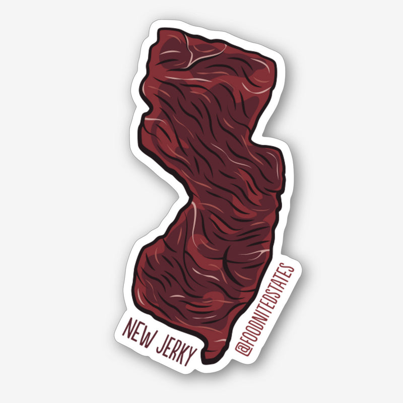 New jerky sticker