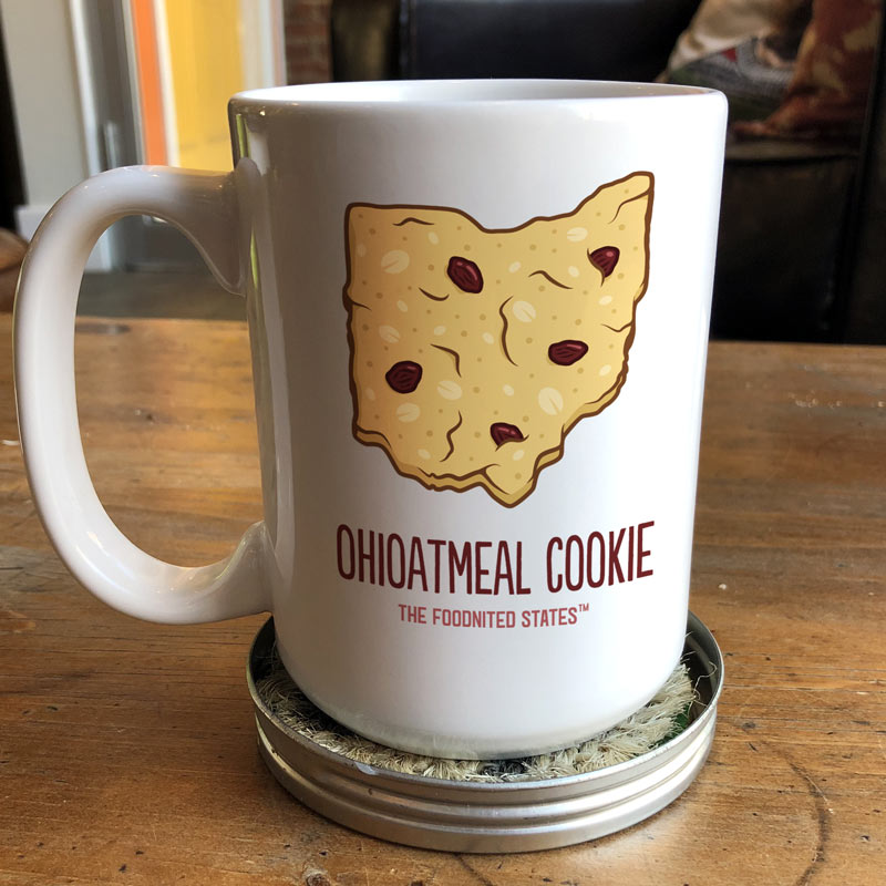 Ohioatmeal Cookie Coffee Mug