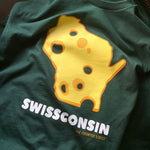Swissconsin T-shirt, Men's/Unisex - The Foodnited States