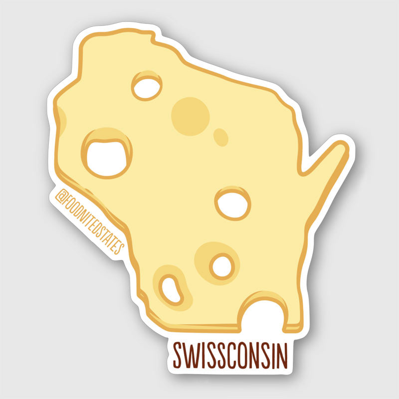 Swissconsin Sticker - The Foodnited States