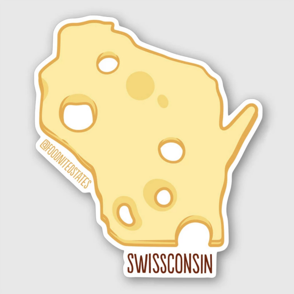 Foodnited States Sticker Four-Pack - The Foodnited States