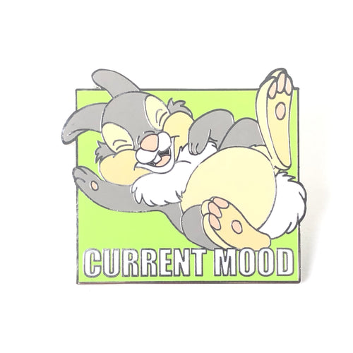 Bambi Thumper Current Mood Thumping With Laughter Disney Pin