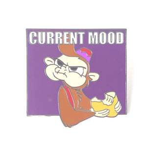 Aladdin Abu Current Mood Hangry Disney Pin