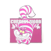 Alice In Wonderland Cheshire Cat Current Mood Completely Mad Disney Pin