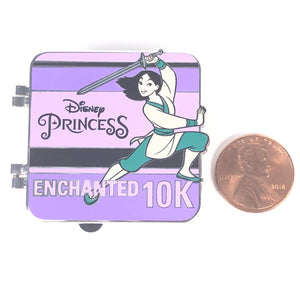 Princess Half Marathon Enchanted 10K I Did It Mulan Disney Pin