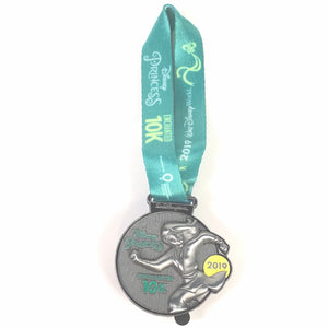 Princess Half Marathon Enchanted 10K Finishers Medal Mulan Disney Pin