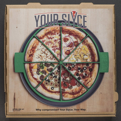 Your Slyce Pizza Making Gadget for Slice Personalization