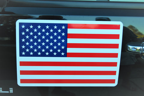 "Image of 12"" x 18"" Magnetic American Flag Decal"