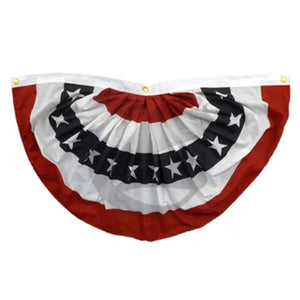 3' x 6' American Flag Outdoor Bunting