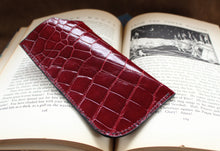 Eyeglass Pouch #1 - American Alligator