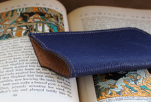 Eyeglass Pouch #1 - Dollaro Calf, Blue