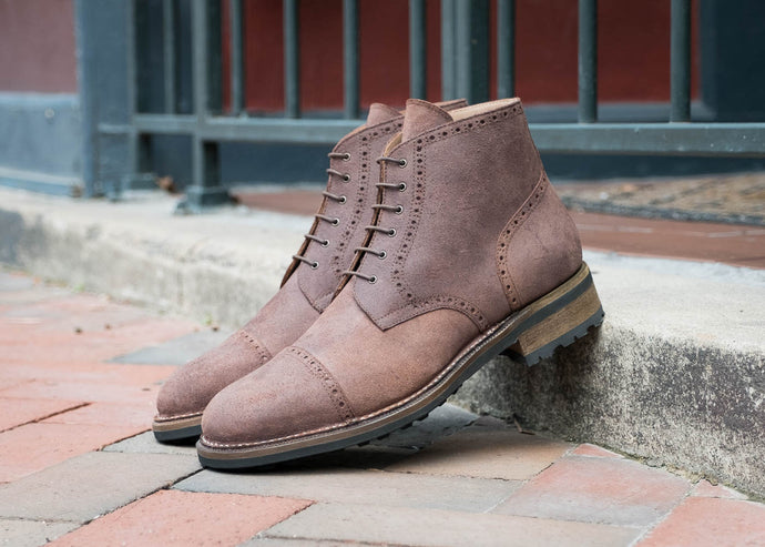 Irwin Cap Toe Derby Boot (Coming Fall '18)