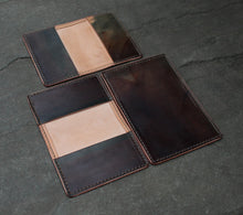 Hand Dyed Card Wallet #9 - Copper