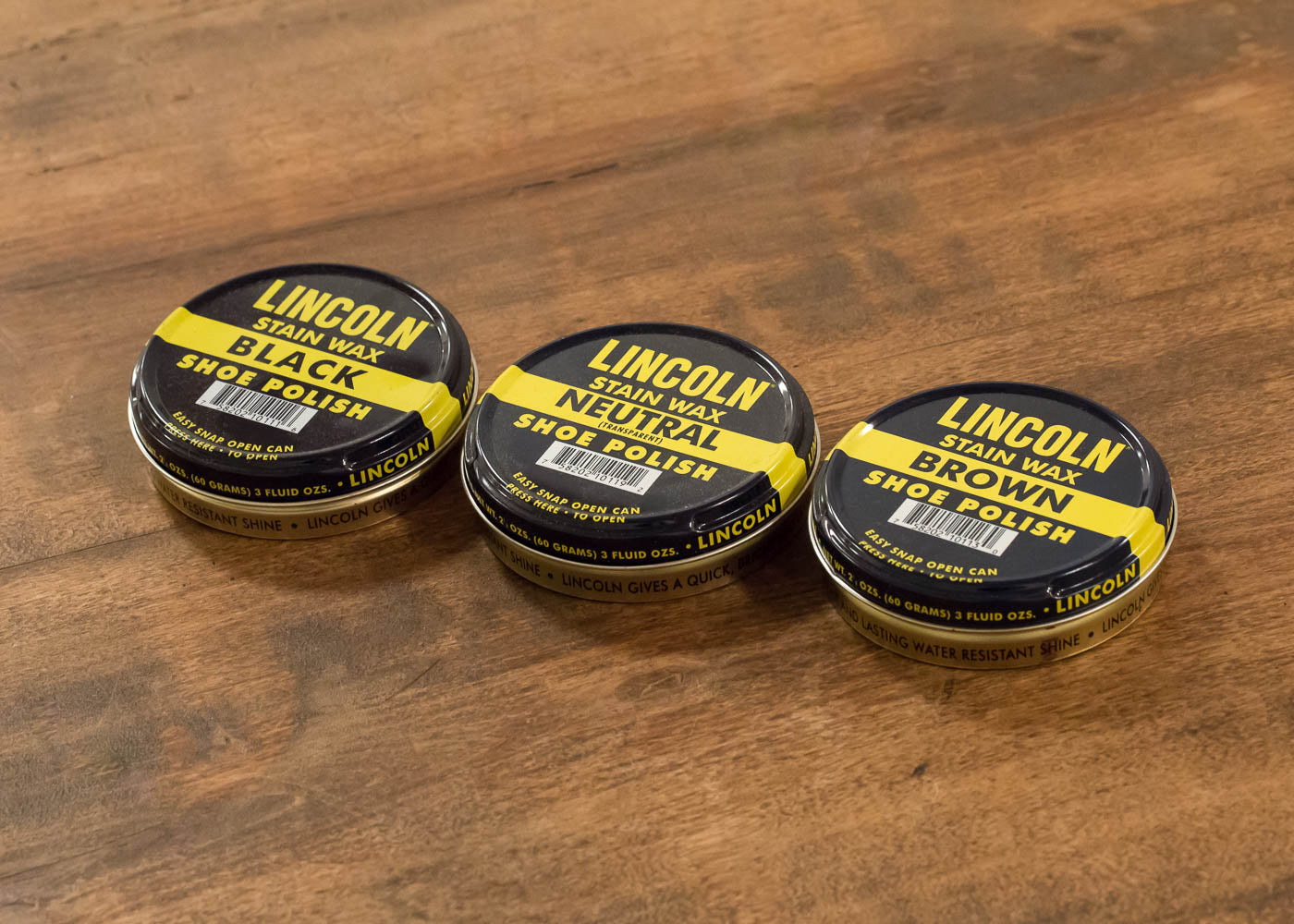 Stain Wax Shoe Polish