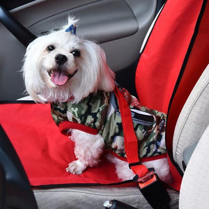 Car Travel Safe Seat Belt for Pets Happy Dog