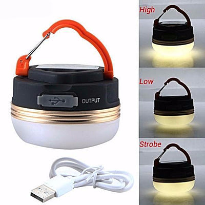 Mini Portable Camping Lantern Charger