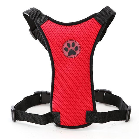 Front Facing Dog Seatbelt Harness (Various Sizes)