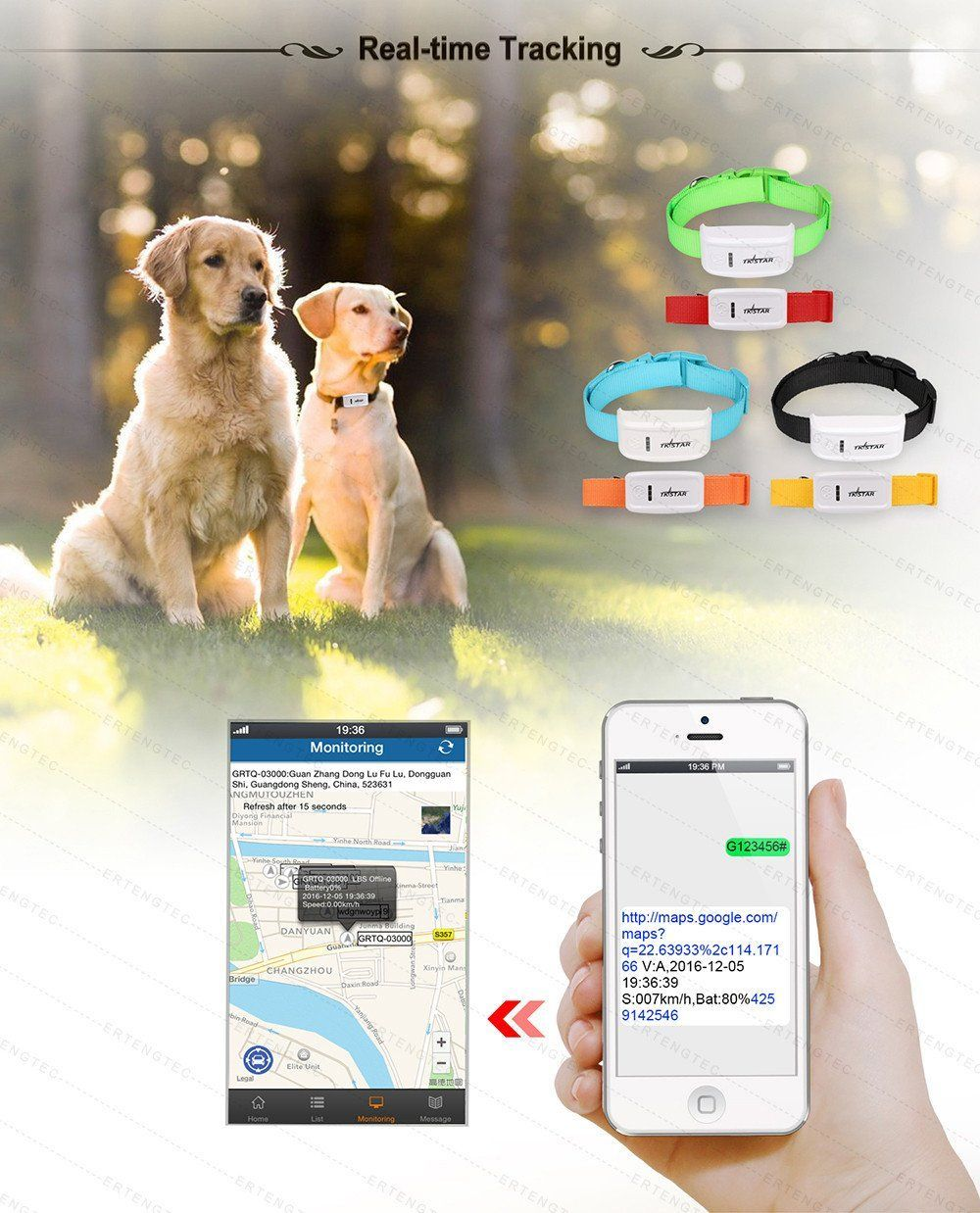 North Shore Outlet's State of the Art Pet GPS Tracker