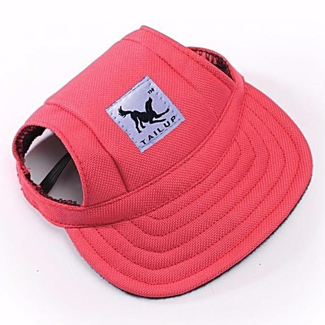 Visor Outdoors Fashion Dog Baseball Sun Hat White Background