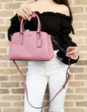 Coach F28977 Mini Sage Satchel Bag Crossbody Pink Rose - Gaby's Bags