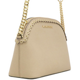 Michael Kors Emmy Medium Cindy Dome Crossbody Bisque - Gaby's Bags