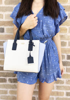 Kate Spade Cameron Street Small Hayden Satchel Cement Morning Multi - Gaby's Bags