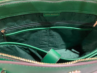 Tory Burch Emerson Large Top Zip Tote Emerald Stone Green Laptop Bag