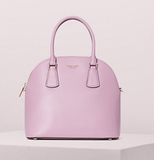 Kate Spade Sylvia Large Dome Satchel Orchid PXRUA271 - Gaby's Bags