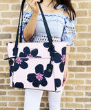 Kate Spade Cameron Large Top Zip Tote Grand Flora Pink + Neda Continental Wallet