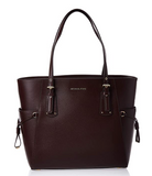 Michael Kors Voyager Large East West Carryall Tote Barolo Leather