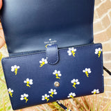 Kate Spade Laurel Way Grand Flora Winni Wallet Crossbody Nightcap Multi Floral