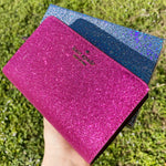 Kate Spade Lola Glitter Medium Bifold Gift Box Wallet Metallic Hot Pink Glitter