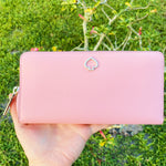 Kate Spade Adel Neda Large Continental Wallet Bright Carnation Pink
