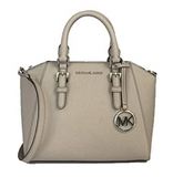 Michael Kors Medium Ciara Messenger Bag Pearl Gray - Gaby's Bags