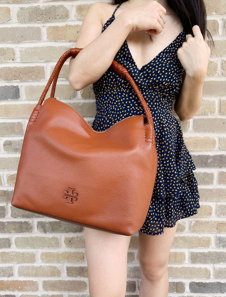 Tory burch Taylor Hobo Dessert Spice - Gaby's Bags