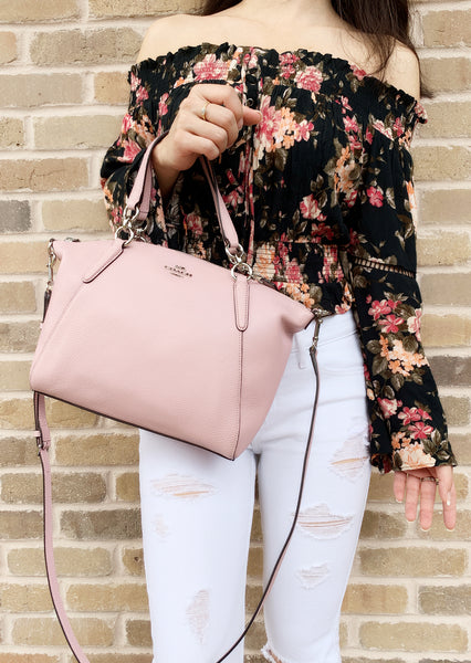 Coach F28993 Small Kelsey Satchel Crossbody Pink - Gaby's Bags