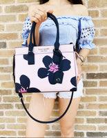 Kate Spade Cameron Street Medium Satchel Grand Flora Serendipity + Large Wallet