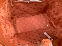 Tory Burch Taylor Tote Large Carryall Shopper Desert Spice Tan Brown - Gaby's Bags