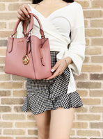 Michael Kors Kimberly Small Satchel Rose Pink - Gaby's Bags