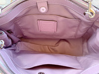 Coach F44958 Surrey Carryall Satchel Jasmine Purple - Gaby's Bags